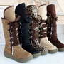 5 COLORS HOT Fashion Women's Girls Winter Warm Snow Boots Shoes All Size