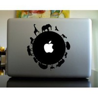 Amazon.com: Apple Macbook Vinyl Decal Sticker - Circle of Life: Everything Else