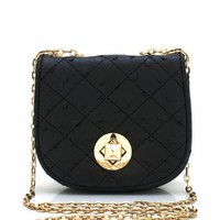 mini-quilted-clutch BLACK - GoJane.com