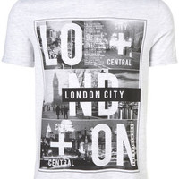 LIGHT GREY LONDON ROLL UP TEE - View All  - New In