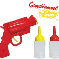 CONDIMENT GUN