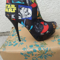 Star Wars Ankle Boot Heels
