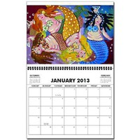 Mermaids Wall Calendar> Calendars > Renie Britenbucher Artwork