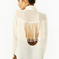 Badlands Fringe Blouse