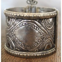 Treasure Blue - Tribal Cuff