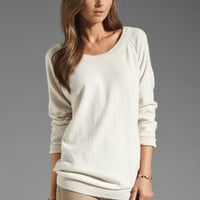Inhabit Oversized Cashmere Weekend Sweater in Bisque from REVOLVEclothing.com