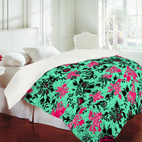 DENY Designs Home Accessories | Romi Vega Vintage Wallpaper Duvet Cover