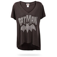 Batman Logo Relaxed Fit Ladies Tee