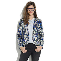 Charade Blazer in Brushstroke