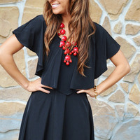 She Has Good Taste Dress: Black | Hope&#x27;s