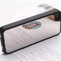 Mirror iPhone Case Black - iPhone Case with a mirror on the back- For iPhone 4/4s
