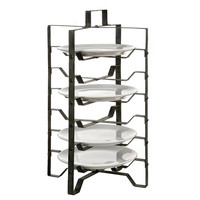 One Kings Lane - Winter on the Lake - Metal Plate Rack
