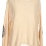 Bow Bling Sweater in Cream - New Arrivals
