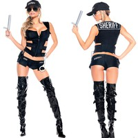Sheriff Sexy Adult Women Costume