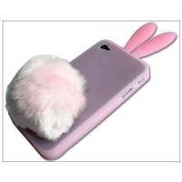 Amazon.com: Bunny Rabit Silicone Case Skin for Iphone 4 Stand Tail Holder: Everything Else