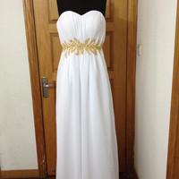 custom make A-line ball gowns chiiffon Dress Bridesmaid Dress Evening Prom Dress