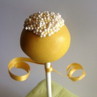 Lemon Drop Cake Pops