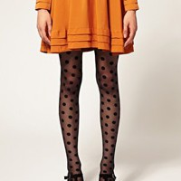 Gipsy Big Spot Tights at asos.com
