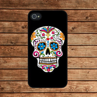 Floral Skull,Sugar Skull--iphone 4 .. on Luulla