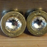 410 Gauge Shotgun Shell Stud Earrings