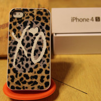 Weeknd White Xo / Leopard / Cheetah / Overdose / Drake Apple Iphone 4 / 4s Case