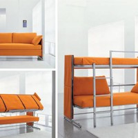 DOC / convertible sofa bunk bed / bonbon.co.uk