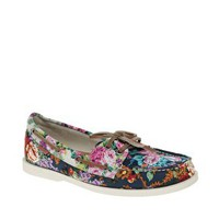 ALDO Chiou Floral Boat Shoes at asos.com