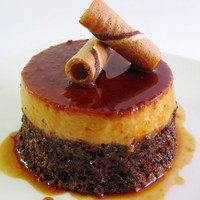 Favorite Recipes / Chocolate flan cake
