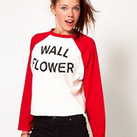 Lazy Oaf Wall Flower Top at asos.com