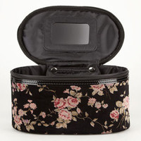 Velvet Floral Cosmetic Case 208694149 | Luggage | Tillys.com