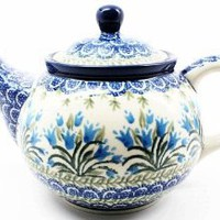Polish Pottery Medium 3 Cup Teapot