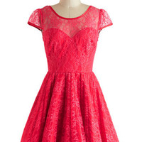 Raspberry Cocktails Dress | Mod Retro Vintage Dresses | ModCloth.com
