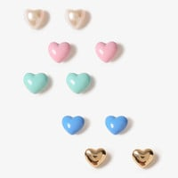 Mini Hearts Stud Set