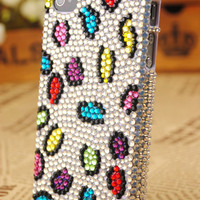 iPhone 4th Generation Colorful Crystals Cover: gulleitrustmart.com
