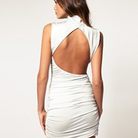 ASOS | ASOS Bodycon Dress with Cut Out Back at ASOS