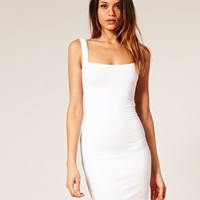 ASOS | ASOS Bodycon Dress with Strap Back Detail at ASOS
