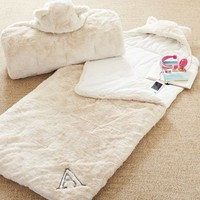 Fur Sleeping Bag - Ivory
