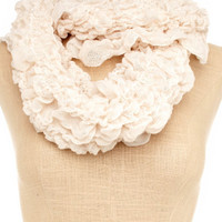 Charlotte Russe - All-Ruched Infinity Scarf