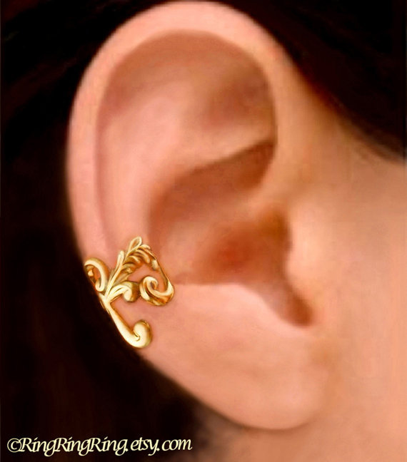 empire gold ear cuff earrings jewelry from ring ring ring on