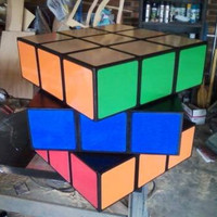 Handmade 2FT Cube Chest of Drawers