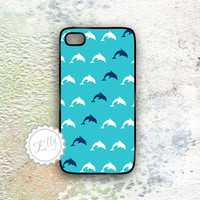 IPhone Case Dolphins Nautical Cover.. on Luulla