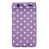 Bellflower Violet And White Stars from Zazzle.com
