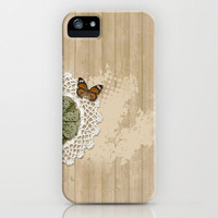 Butterfly on my wall iPhone Case by Lilach Oren | Society6