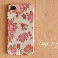 Iphone 4, Blackberry mobile Case handmade: Roses