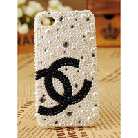 iPhone 4 3G AAA Grade Crystal Diamond Pearls Shell Case Cover