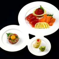Trio Plate by Jean-Marc Gady for Ameico - Free Shipping