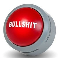 The Official Bullsh*t Button (BS Button): Toys & Games.
