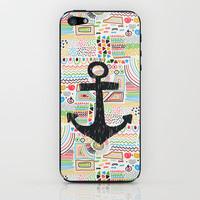 Anchor iPhone & iPod Skin by Berreca | Society6