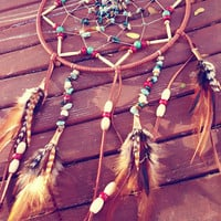 Beaded Dream Catcher Made to Order Free Shipping in US