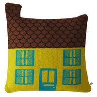 House Pillow - Mustard